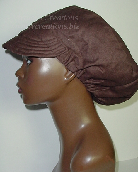 Billed Hat-Chocolate Brown -Unisex-Hers