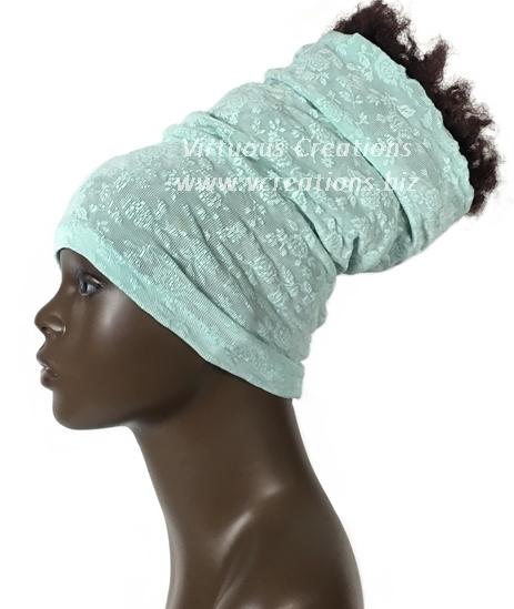 Jacquard-Pastel Mint Green